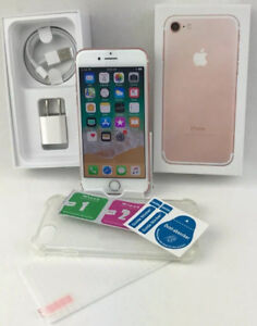 Rose Gold iPhone 7 - 32gb -9.5/10 Condition -W/Accessories- READ