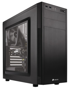 Corsair 100R case with one fan