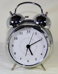 For Sale. Nextime Wake Up Retro Style Alarm Clock 6 inch Oakville / Halton Region Toronto (GTA) image 1