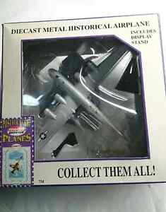 Postage Stamp Collection 5388 USAF B-29 Gnola Gay WWII Diecast
