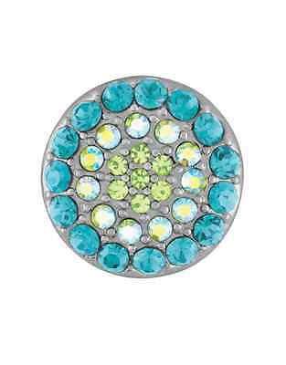 GINGER SNAPS™ RITZY - MULTI TURQUOISE Jewelry - BUY 4, GET 5TH $6.95 SNAP FREE