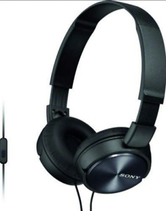 Sony MDR-ZX310AP Foldable Stereo Headphones w/ Mic & Remote