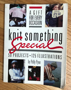 """For Sale: """" Knit Something Special Book"""" HK and MK Book"""