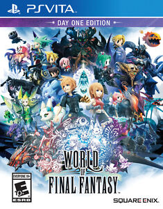 World Of Final Fantasy Day One Edition - PSVita - New / Sealed