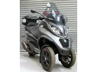 2018 68 PIAGGIO MP3 493cc 500 HPe LT Sport ABS SCOOTER 3 WHEEL EXPORT ONLY TRADE