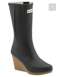Hunter Wedge Boots