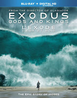 Exodus: Gods and Kings NEW SEALED Blu-ray + HD Digital Copy