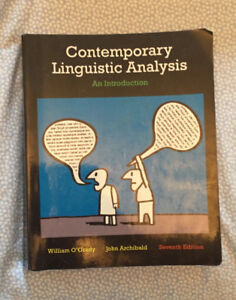 Contemporary linguistic analysis kijiji in ontario buy sell contemporary linguistic analysis 7th edition textbook fandeluxe Images
