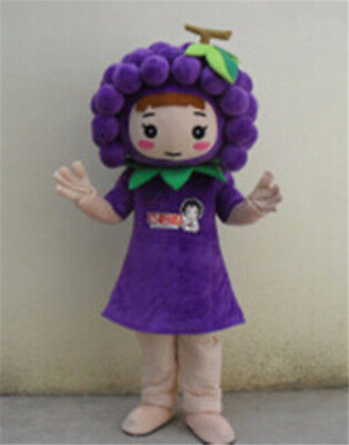 Adversting Grapes Fruit Costume Party Supermarket Fancy Dress Cosplay - Party Supermarket