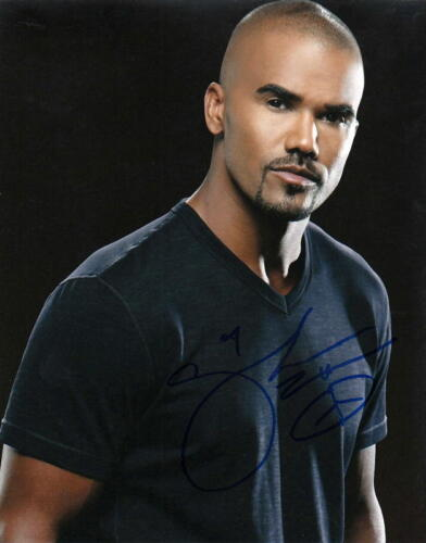 SHEMAR MOORE.. Handsome Hunk (Criminal Minds) SIGNED