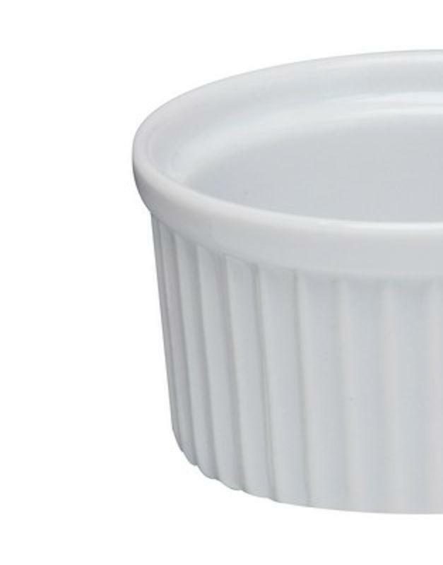 Trento White Ceramic Amuse Bouche 12.5x5.5cm Ramekin Serving Dish