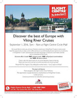 Viking River Cruises Event with Flight Centre