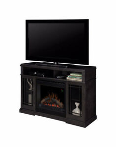 "Dimplex 47"" Media Console Electric Fireplace in Raven"