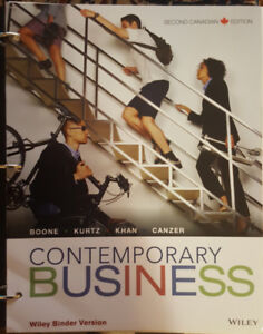 Contemporary business canadian edition buy or sell books in contemporary business textbook for sale fandeluxe Choice Image