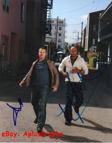 NCIS: LOS ANGELES... L.L. Cool J with Chris O'Donnell - SIGNED