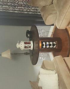 Beautiful handmade wine table