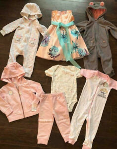 12-Month Size Baby Clothes - $45 for all!