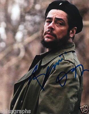 Benicio Del Toro   As Che Guevara   Signed