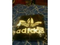 BRAND NEW SEALED UP Adidas Fleece Jacket and jogging bottoms / MENS size M / cash or swaps