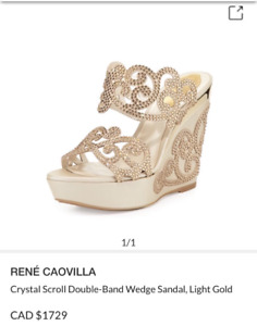 Rene Caovilla shoes original price cad$1700 now is $300