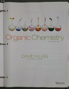 Organic Chemistry by David Klein Second Edition