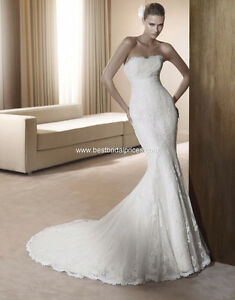 Pronovias Fedra mermaid wedding dress