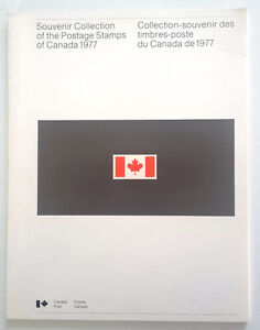 Collection-souvenir des timbres post du Canada de 1977