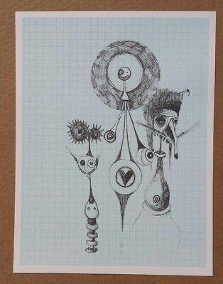 GERT &. UWE TOBIAS Originallithografie handsigniert Jahresgabe für Griffelkunst