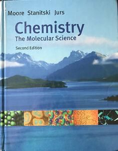 Chemistry The Molecular Science Chem 1300 Chem 1310