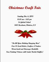 YOU WON'T WANT TO MISS THE CHRISTMAS CRAFT/GIFT SHOW