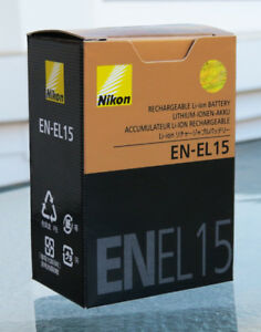 Nikon EN-EL15 Battery for Nikon D7000, D7100, D7200, D7500, D800