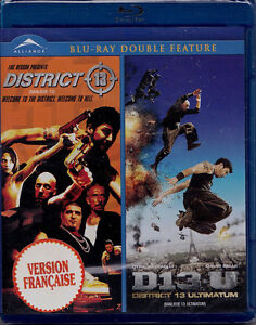 District 13/District 13 Ultimatum-Double feature Blu-Ray + bonus
