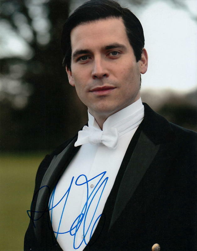 ROB JAMES-COLLIER.. Tuxedo Clad Charmer (Downton Abbey) SIGNED