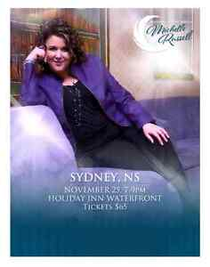 Wanted: 2 vip tickets to see michelle russell