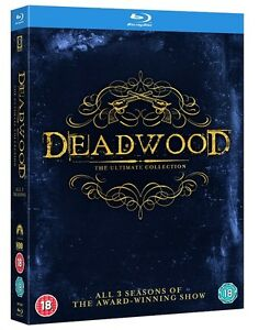 BLU-RAY! HBO'S DEADWOOD ALL 3 SEASONS BOX SET