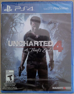 New Uncharted 4 A Thief's End