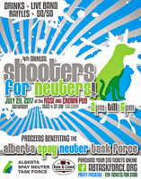 Shooters for Neuters Fundraiser!