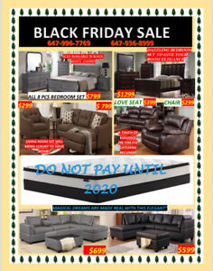 BEAT THE PRICE THIS BLACK FRIDAY ON FURNITURE