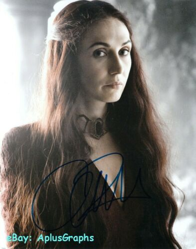 CARICE VAN HOUTEN.. Game Of Thrones' Red Woman - SIGNED