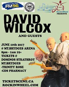 Free David Wilcox Tickets!!