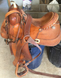 Billy Cook Saddle and Accessories