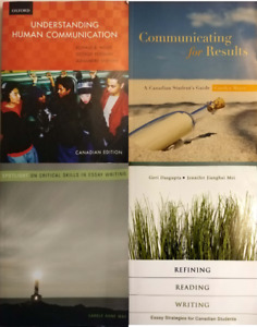 Communication, ESL, Essay Writing, Journalism Books $10-$100