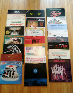 Movies Soundtrack Record LP Quality Collection See Pic and List