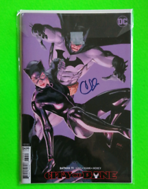 Batman Comic - City Of Bane 79 / Signed by Clay Mann