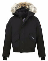 REAL - Black Medium Canada Goose Bomber Jacket! PERFECT CONDITIO