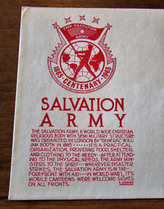 1965 Centenary Salvation Army 5 Cent First Day Cover Kitchener / Waterloo Kitchener Area image 2