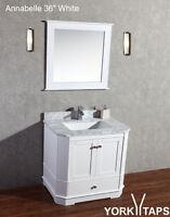 "Annabelle 36"" Espresso Bathroom Vanity"