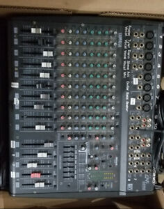 USED Yamaha EMX2000 12 Channel Powered Mixer + 2 Speaker Cabinet