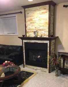 Custom Fireplace Mantels and wall units  Windsor Region Ontario image 2