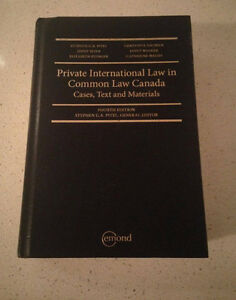 Private International Law in Common Law Canada (4th ed)